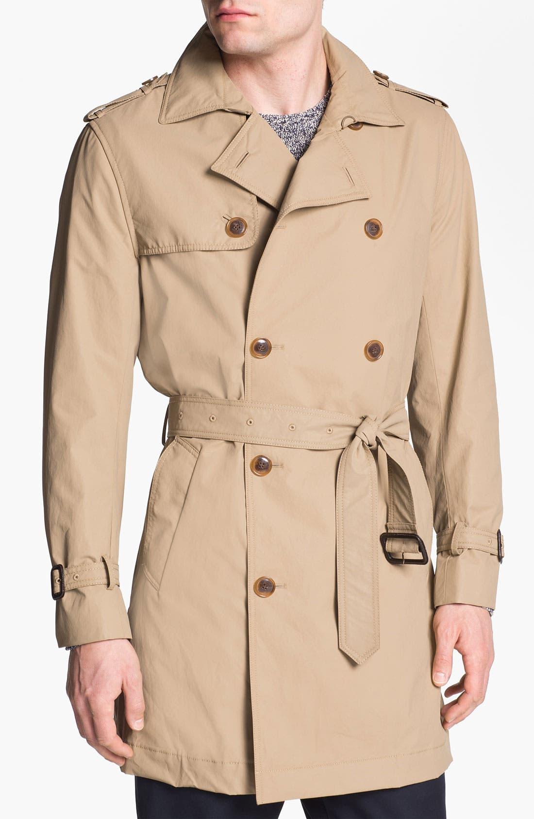 Main Image - Cole Haan Trench Coat (Online Exclusive)