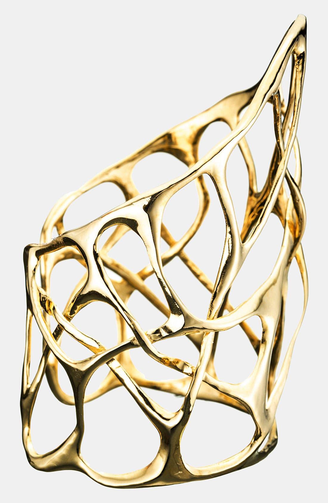 Alternate Image 2  - Alexis Bittar 'Miss Havisham - Liquid Gold' Open Cuff