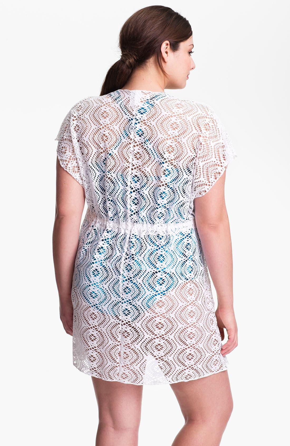 Alternate Image 2  - Becca Etc. 'Marbella' Tunic (Plus Size)