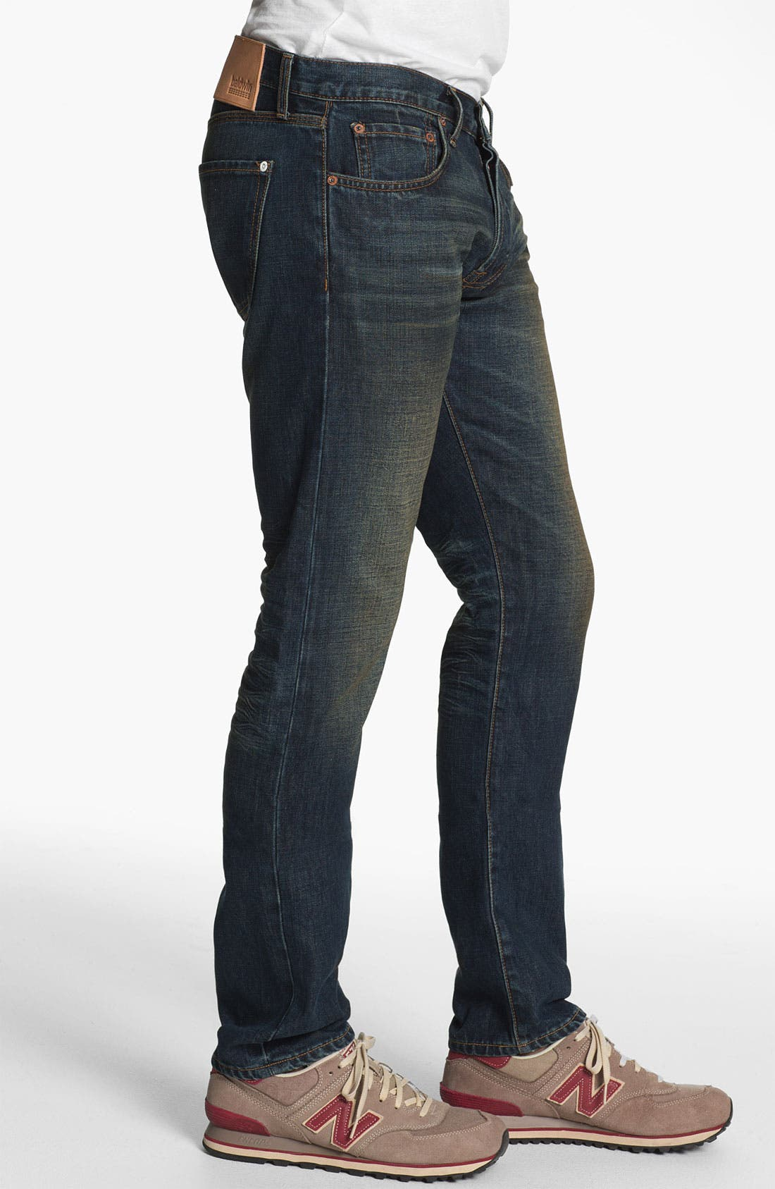 Alternate Image 3  - Baldwin 'Henley' Slim Tapered Leg Selvedge Jeans (Joshua)