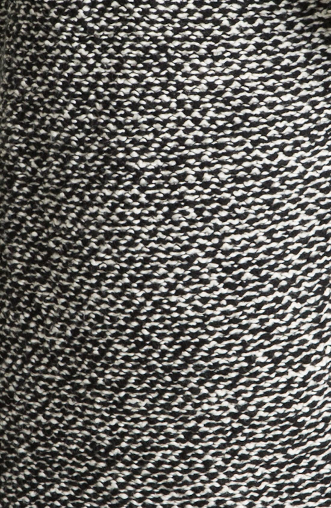Alternate Image 3  - Eileen Fisher Funnel Collar Twist Jacket (Petite)