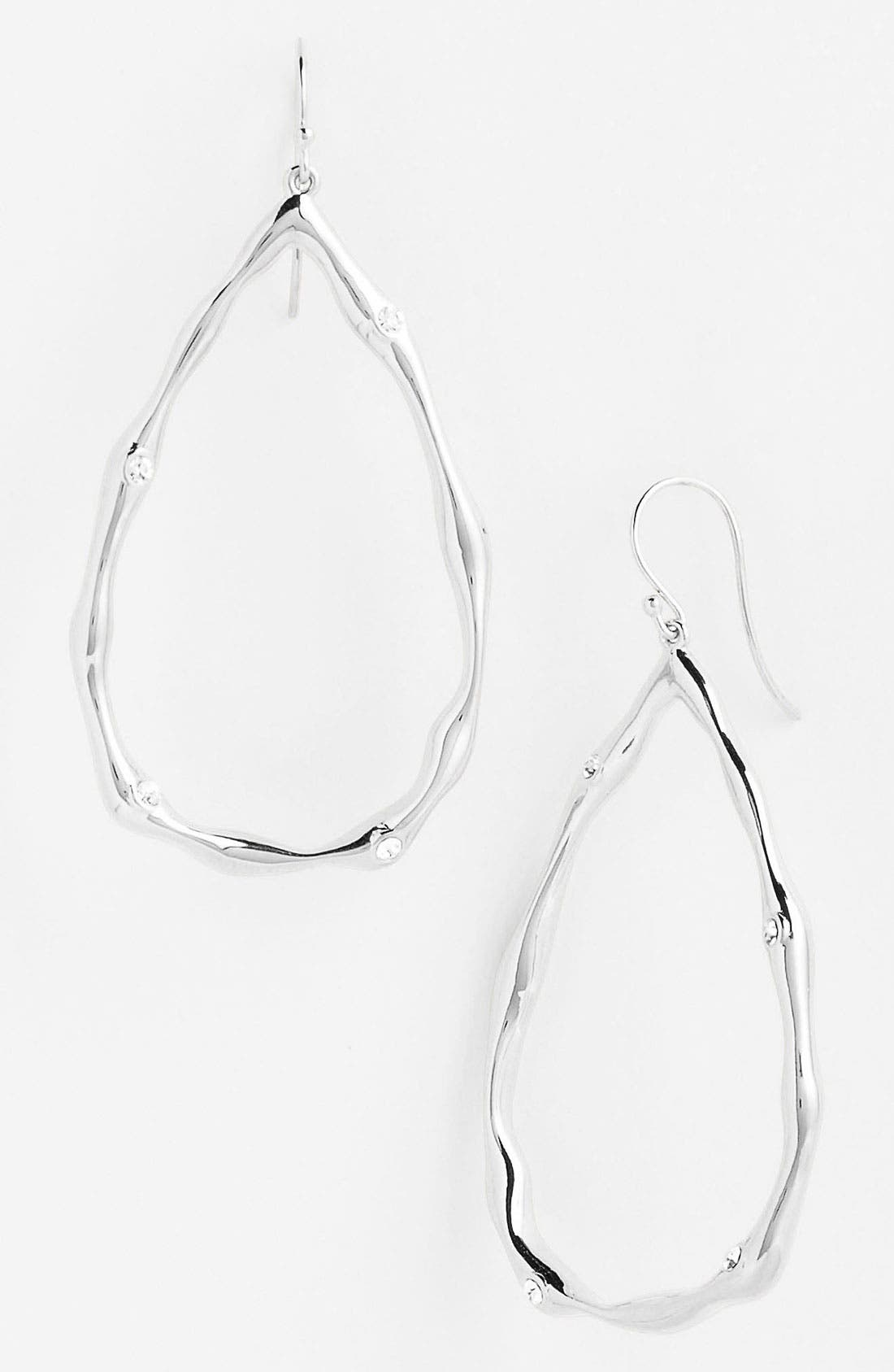 Main Image - Nadri Large Open Teardrop Earrings