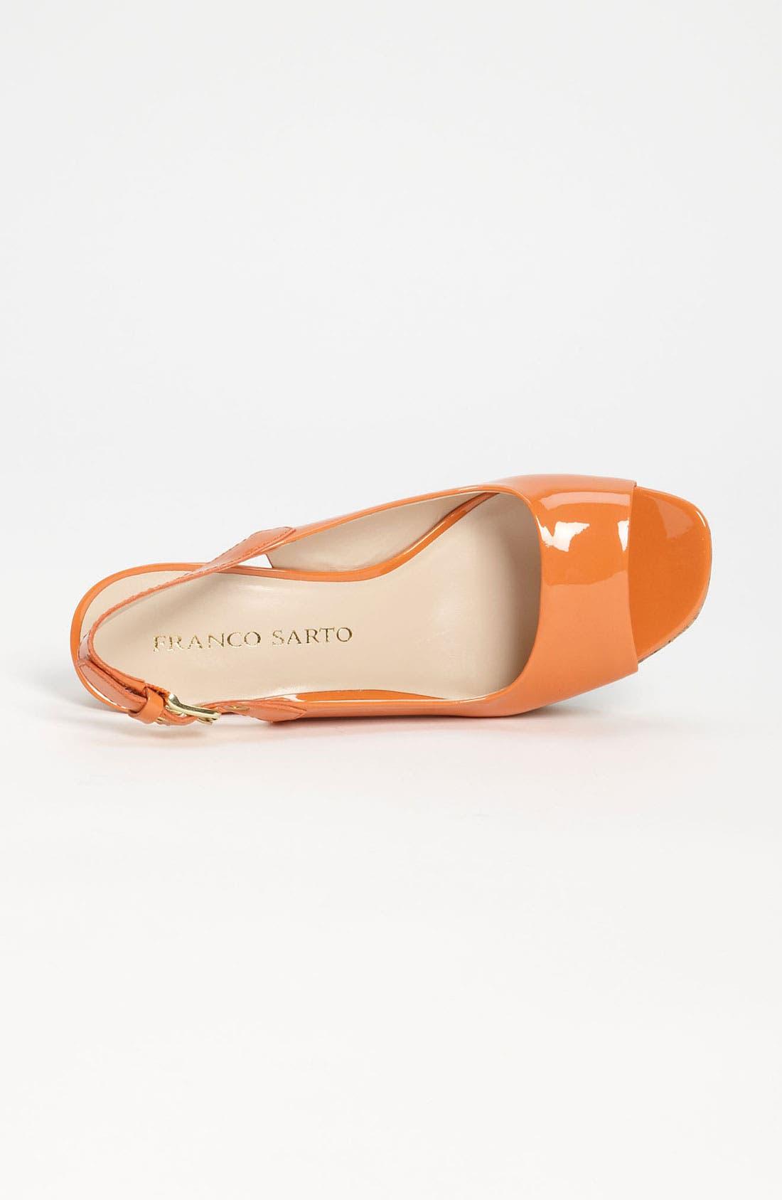 Alternate Image 3  - Franco Sarto 'Colley' Wedge Sandal