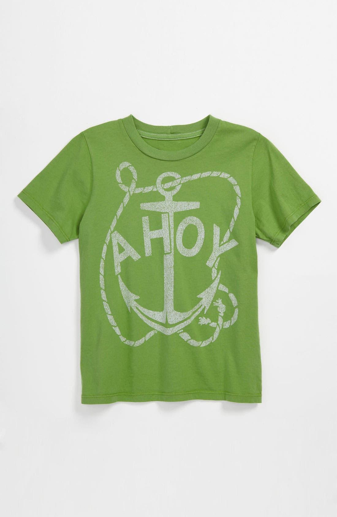 Alternate Image 1 Selected - Peek 'Ahoy' T-Shirt (Toddler, Little Boys & Big Boys)