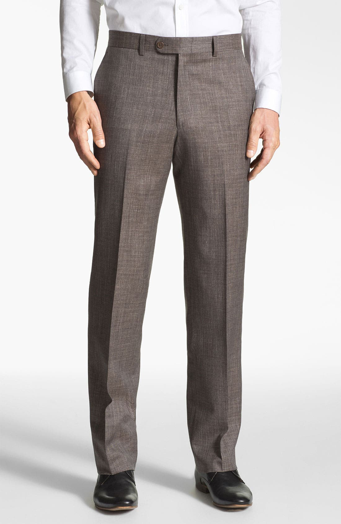Alternate Image 1 Selected - Linea Naturale 'Luxe Natty' Wool Trousers