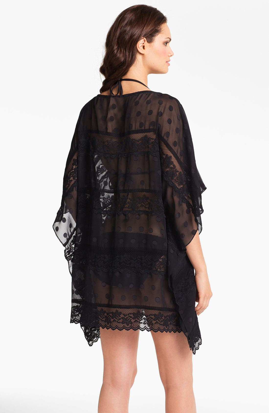 Alternate Image 2  - Betsey Johnson 'Double Date' Tunic Cover-Up