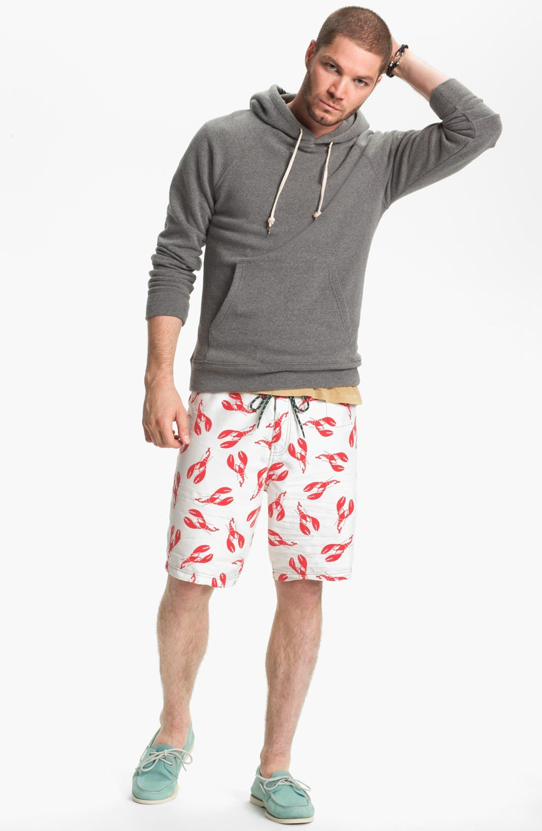 Alternate Image 4  - Sperry Top-Sider® 'What A Catch' Print Board Shorts
