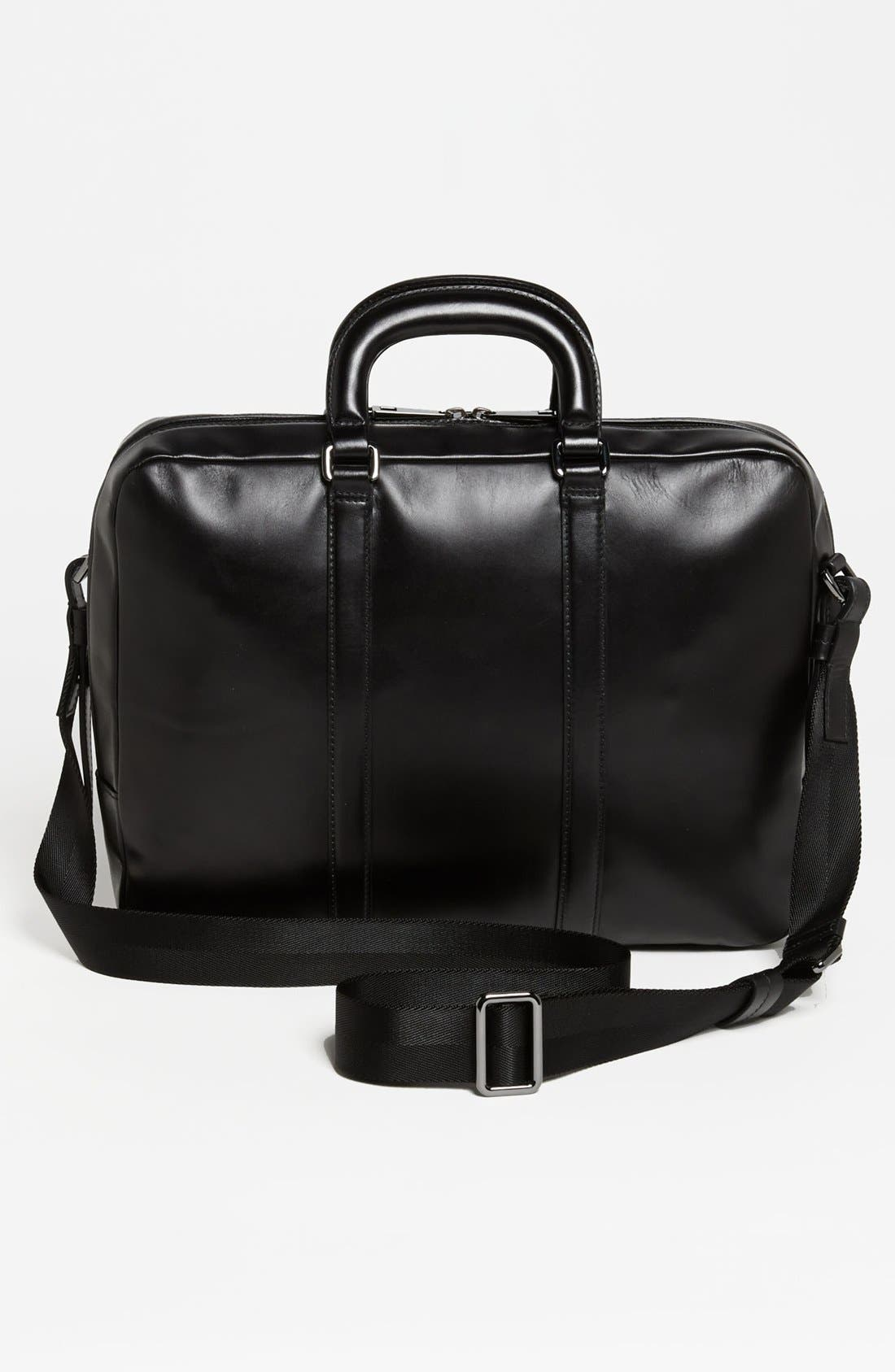 Alternate Image 2  - BOSS Black 'Possiv' Leather Briefcase