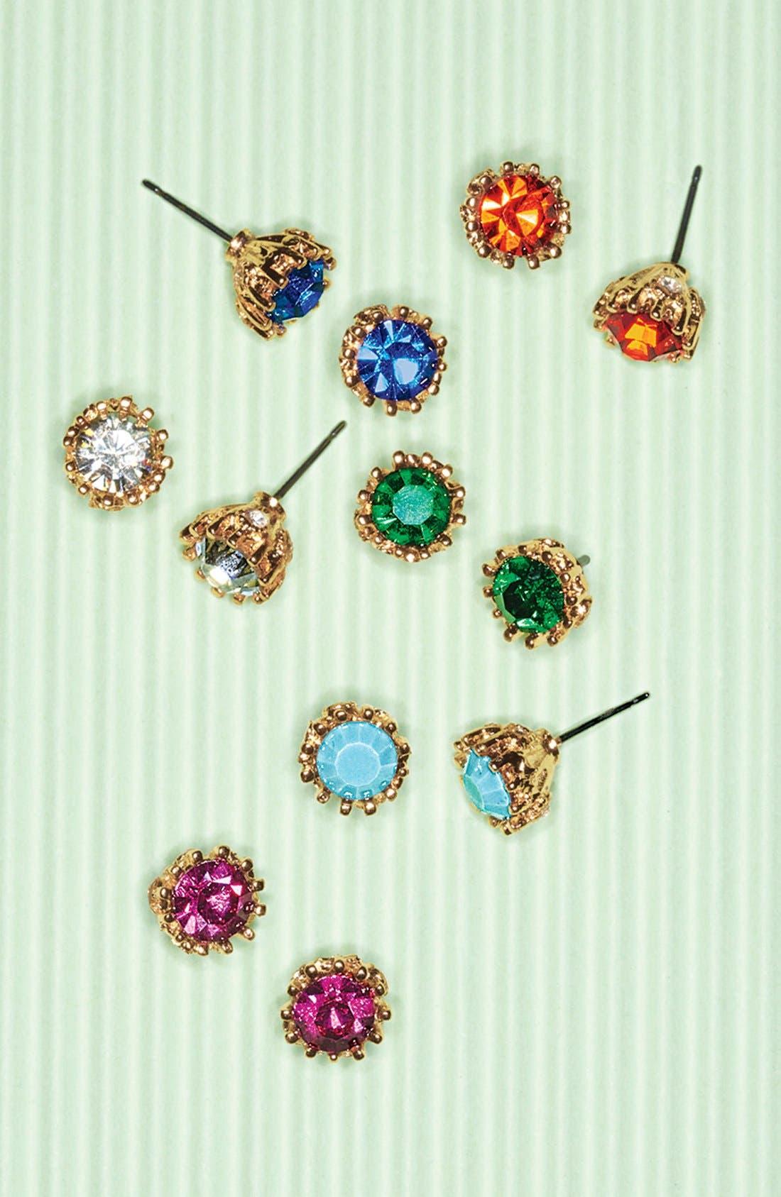 Alternate Image 2  - Nordstrom 'Stephanie' Stud Earrings