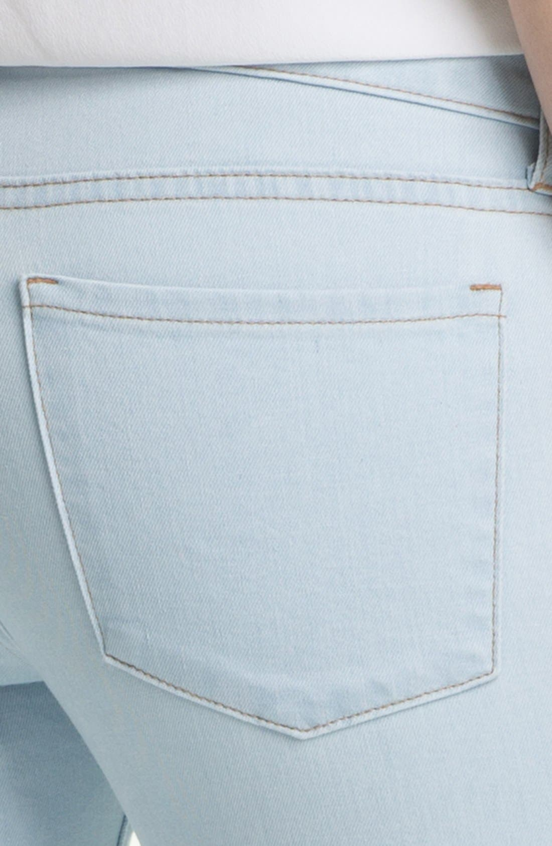 Alternate Image 3  - Two by Vince Camuto Skinny Jeans (Pale Blue)