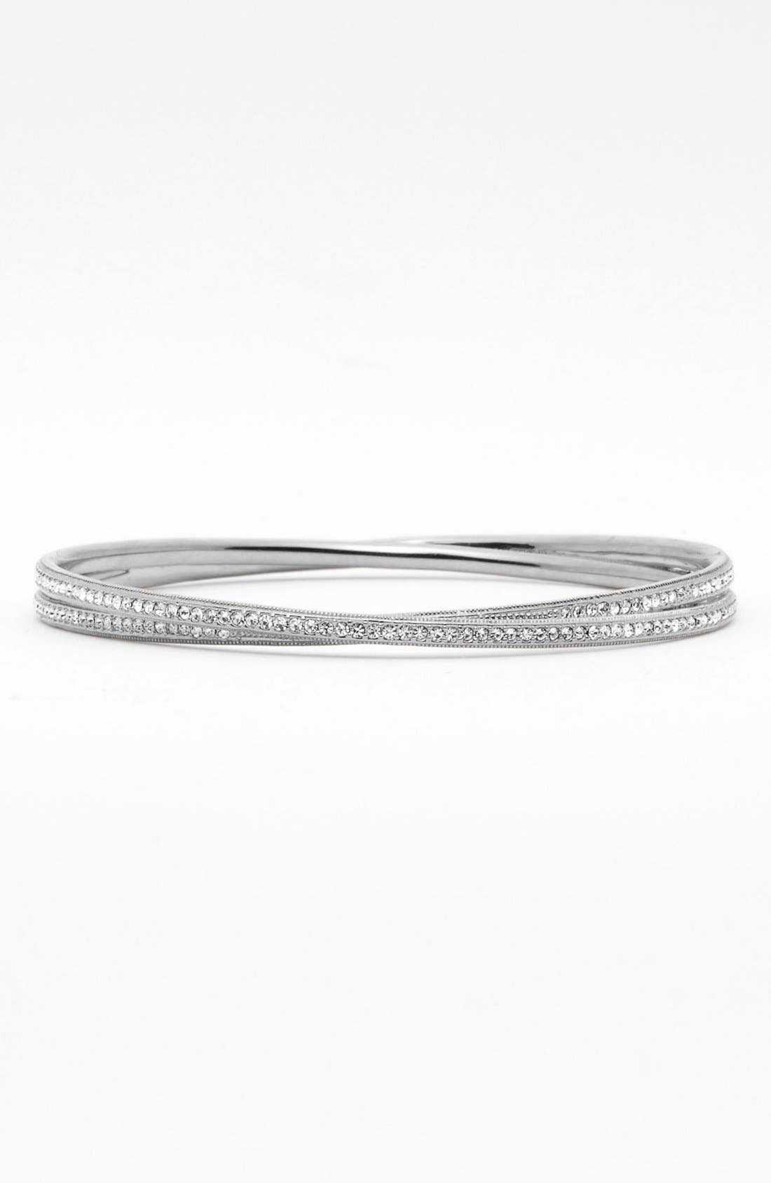 Alternate Image 1 Selected - Nadri Intertwined Crystal Bangle