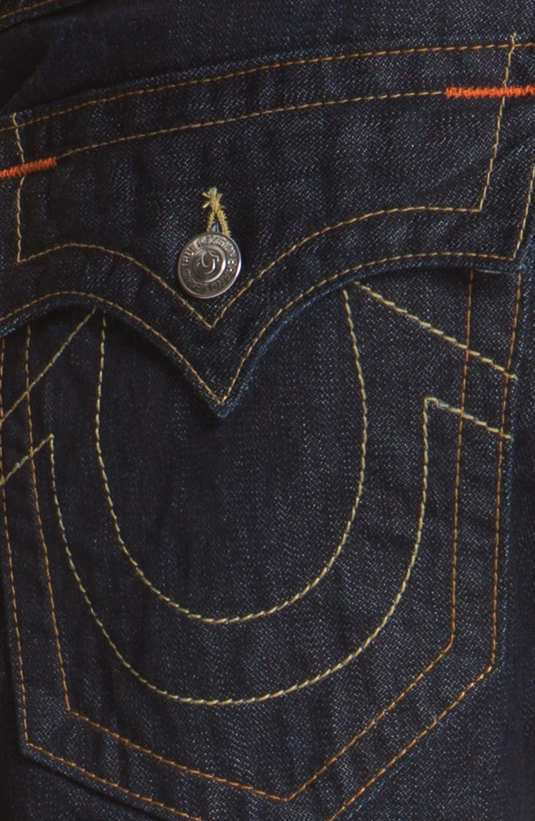 Alternate Image 4  - True Religion Brand Jeans 'Ricky' Cut Off Denim Shorts
