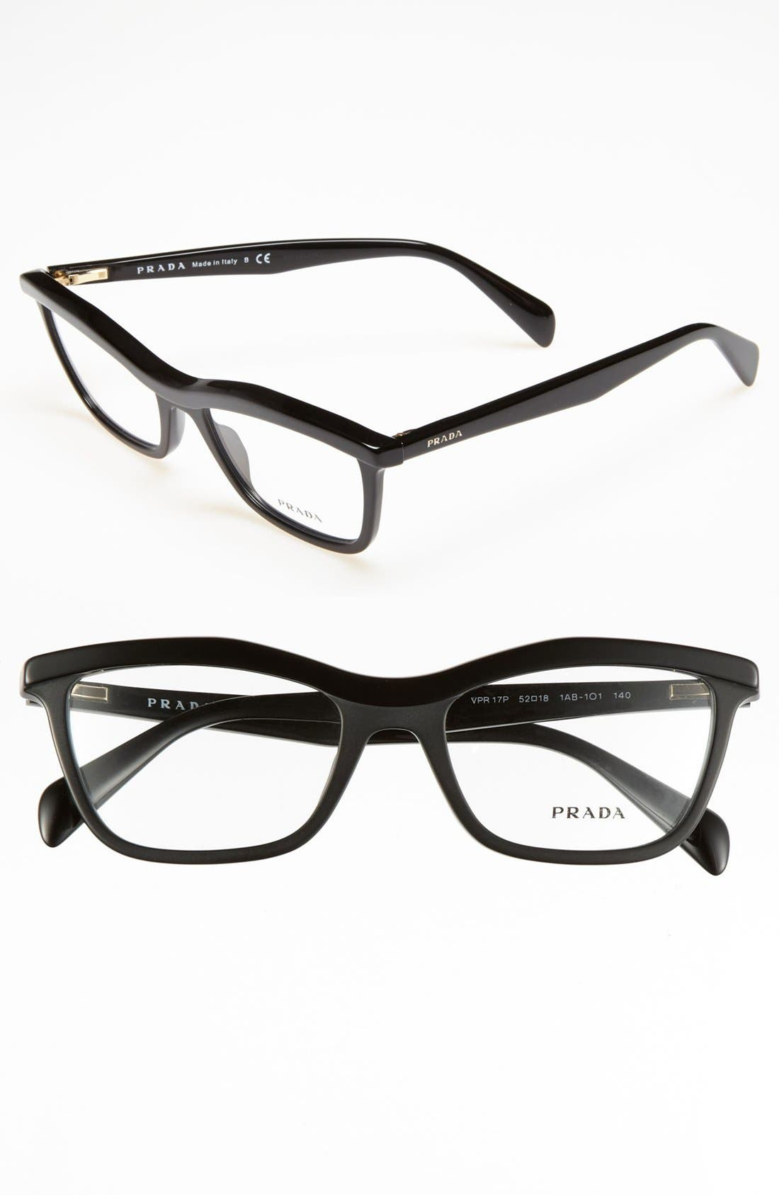Alternate Image 1 Selected - Prada 52mm Optical Glasses (Online Only)