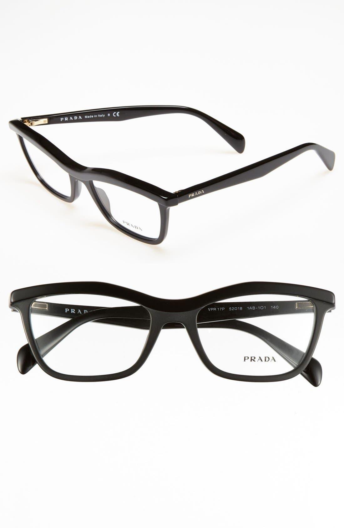 Main Image - Prada 52mm Optical Glasses (Online Only)