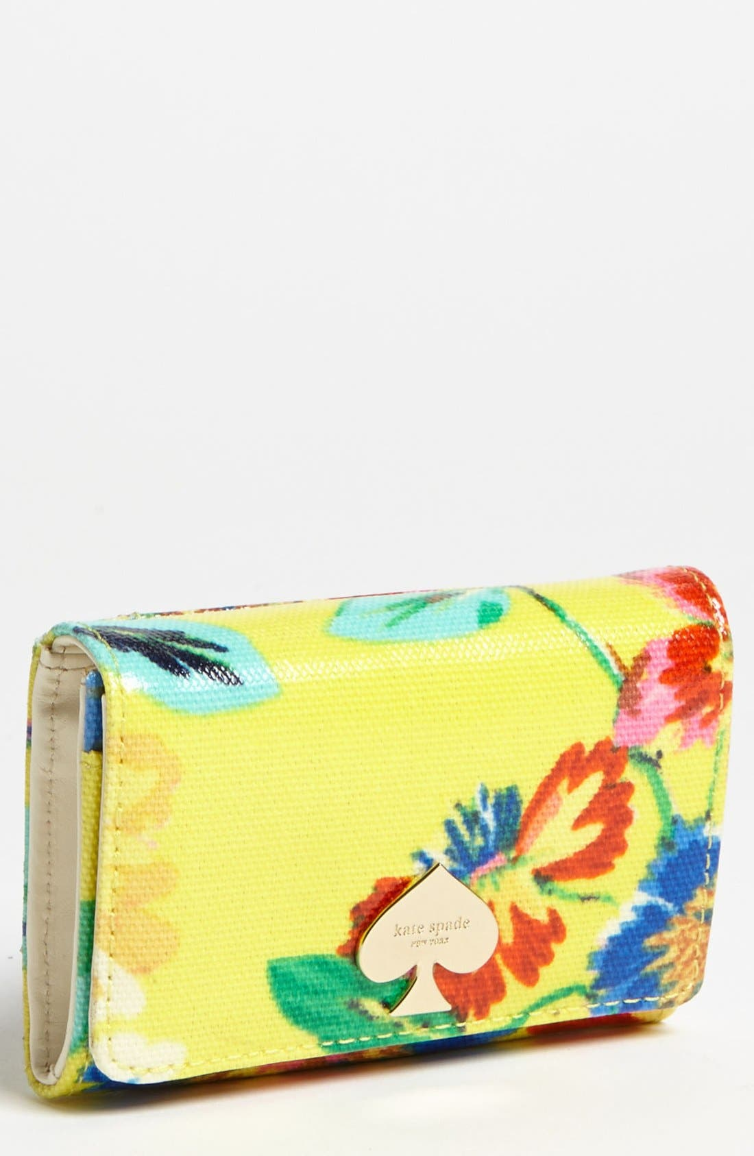Main Image - kate spade new york 'flicker - darla' french wallet