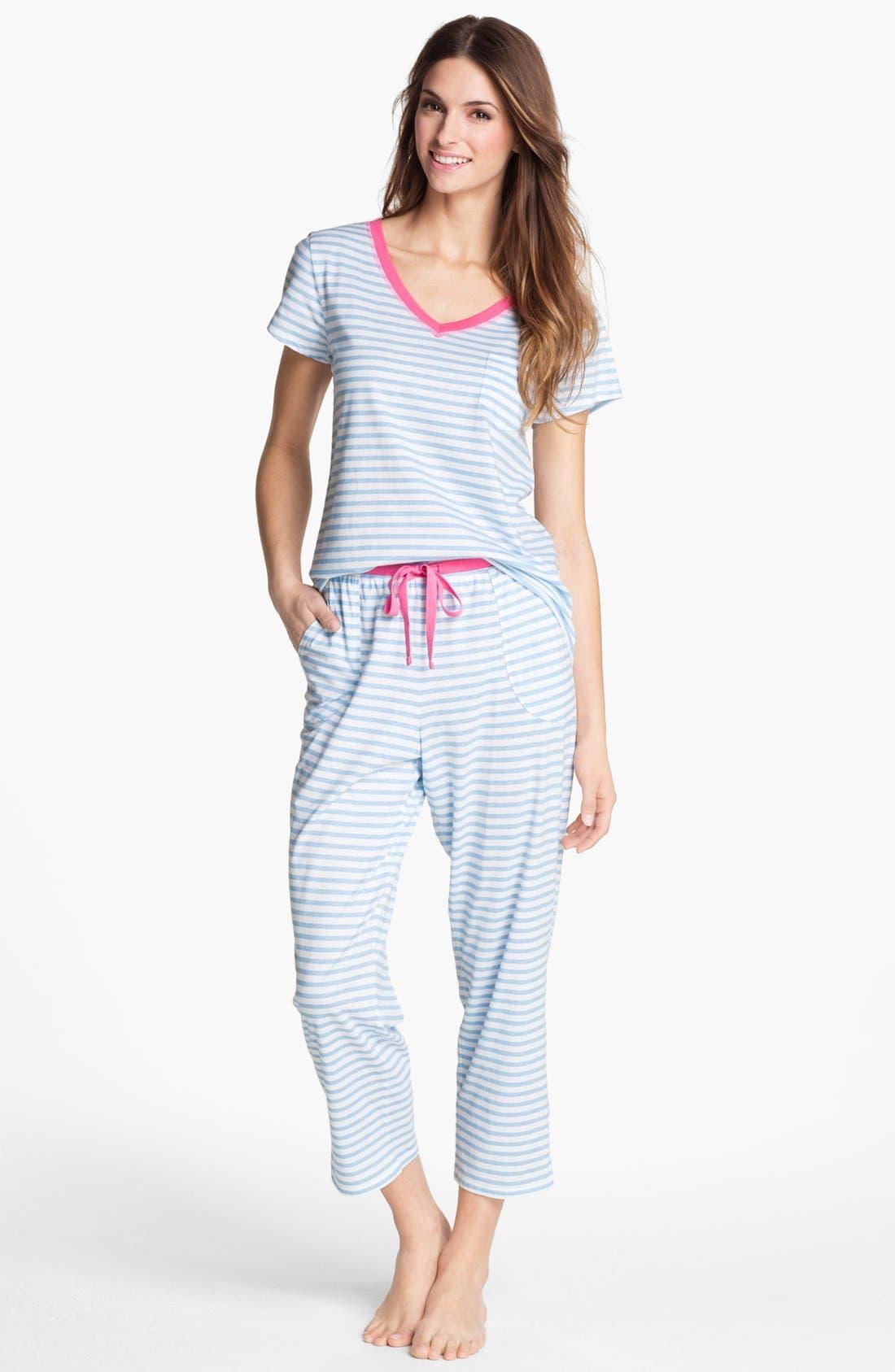 Main Image - Carole Hochman Designs Capri Pajamas