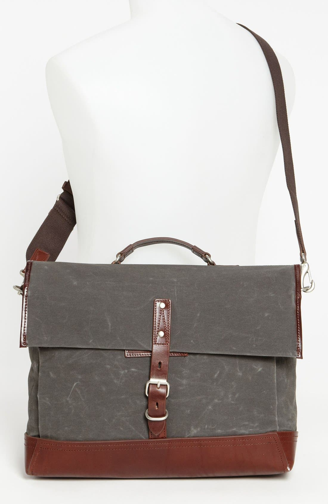 Alternate Image 4  - Property Of… 'Alfred' Canvas Briefcase