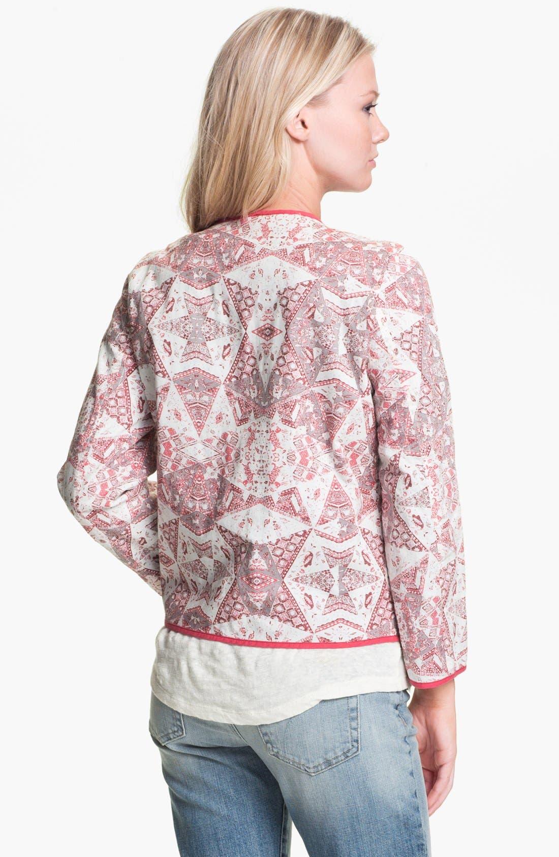 Alternate Image 2  - Sanctuary Quilt Print Jacket