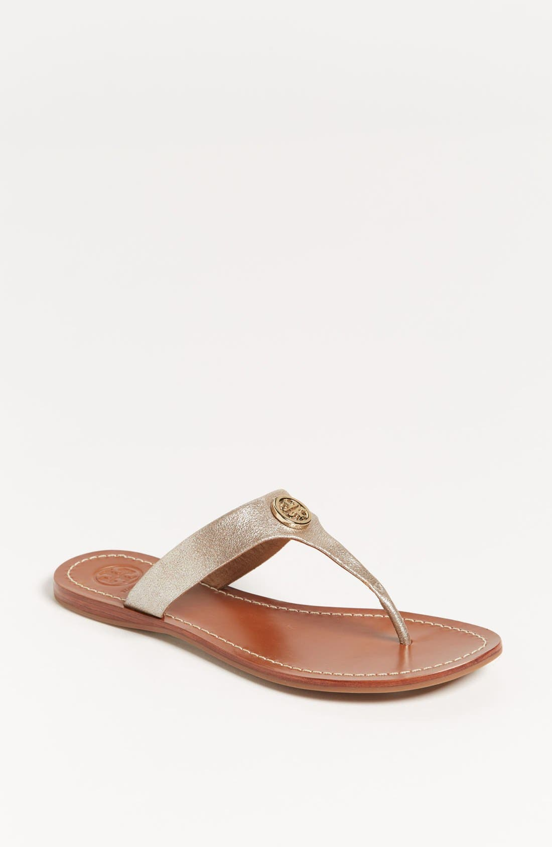 Alternate Image 1 Selected - Tory Burch 'Cameron' Sandal (Exclusive Color)