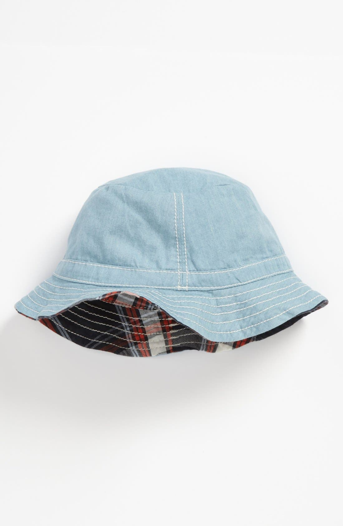 Alternate Image 2  - Nordstrom Baby Woven Bucket Hat (Infant)