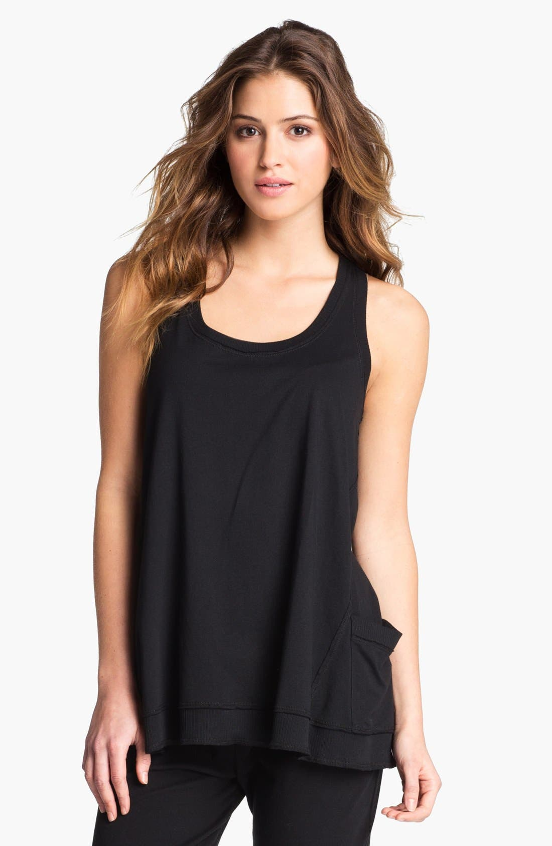 Alternate Image 1 Selected - Donna Karan 'Casual Luxe' Lounge Top