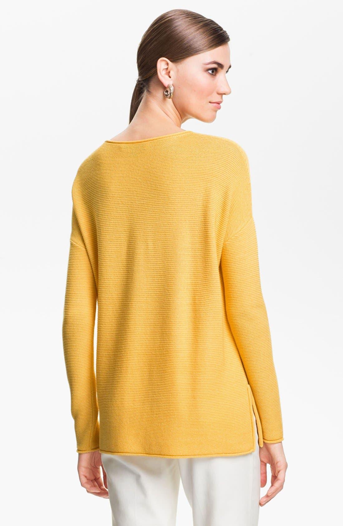 Alternate Image 4  - St. John Yellow Label Ottoman Knit Sweater