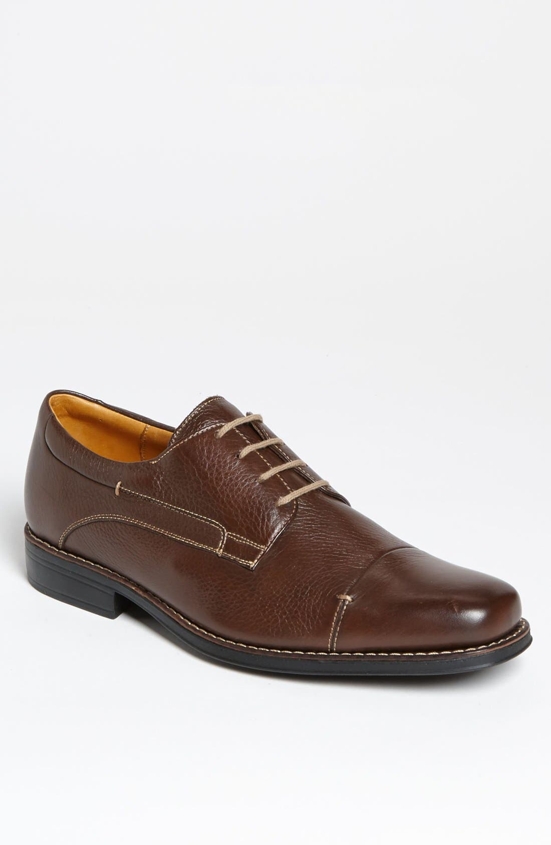 'Gary' Cap Toe Derby,                             Main thumbnail 1, color,                             Troy
