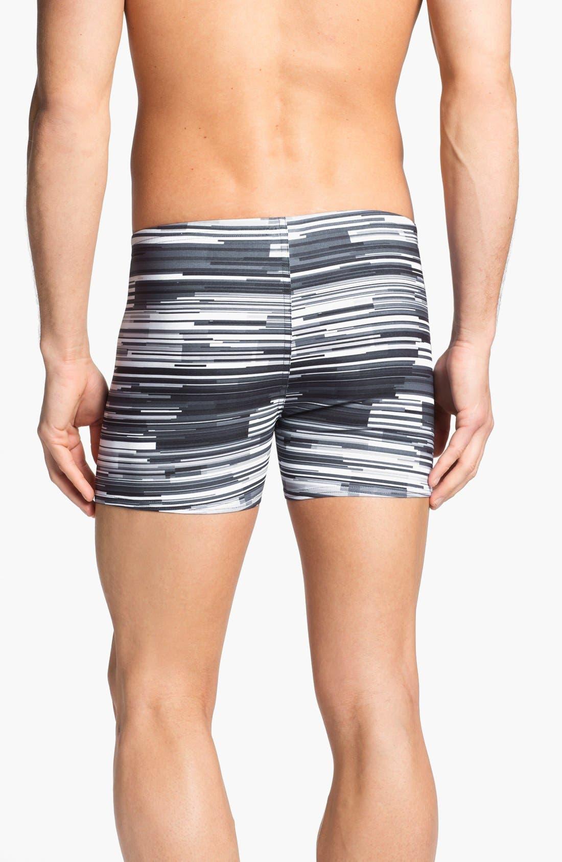 Alternate Image 2  - Speedo® 'Linear Motion' Square Cut Swim Trunks
