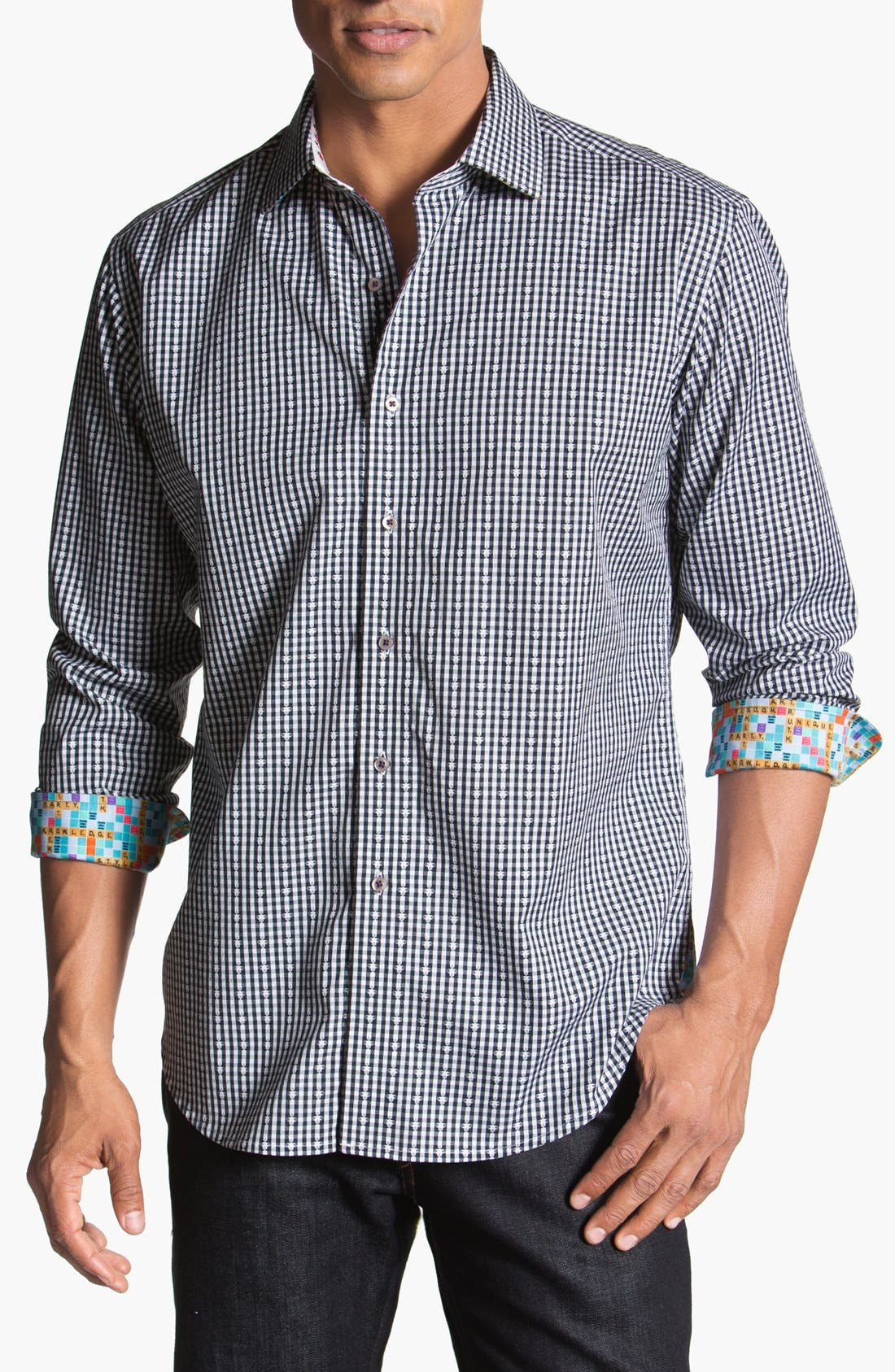 Main Image - Robert Graham 'Ron L.' Sport Shirt