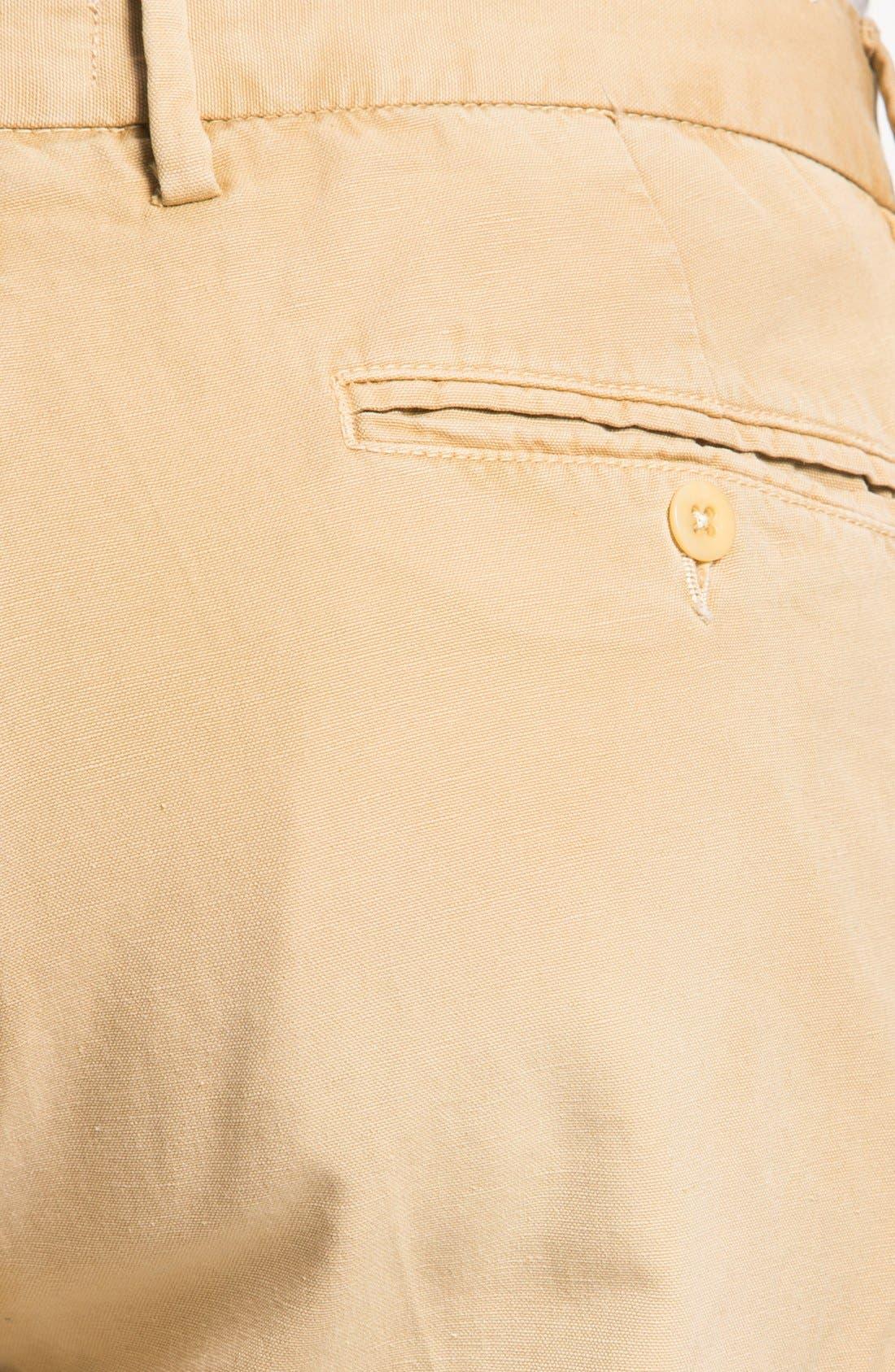 Alternate Image 3  - Gant Rugger Slim Fit Canvas Chinos