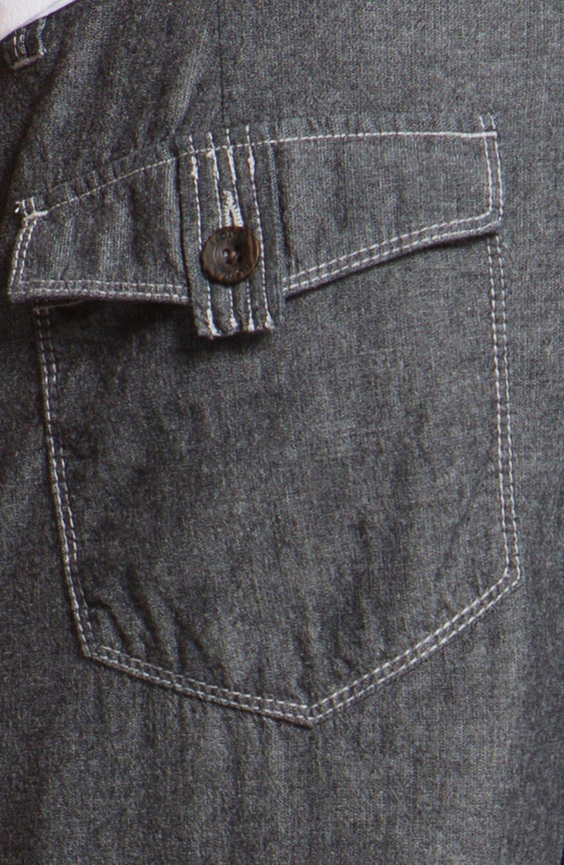 Alternate Image 4  - Howe Reversible Chambray Shorts