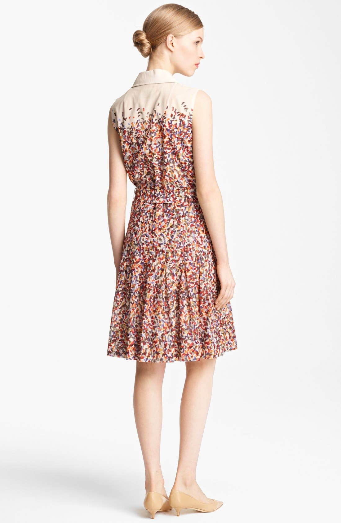 Alternate Image 2  - Akris punto Confetti Print Cotton Voile Dress