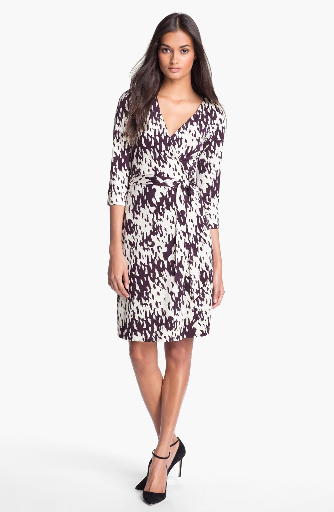Alternate Image 1 Selected - Diane von Furstenberg 'New Julian 2' Silk Wrap Dress