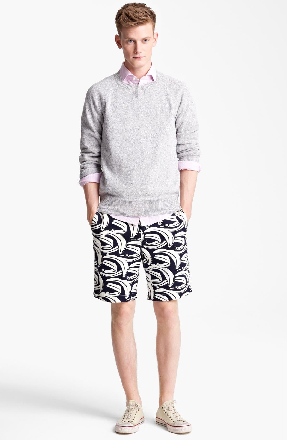 Alternate Image 4  - Jack Spade 'Dawson' Cotton & Linen Crewneck Sweater