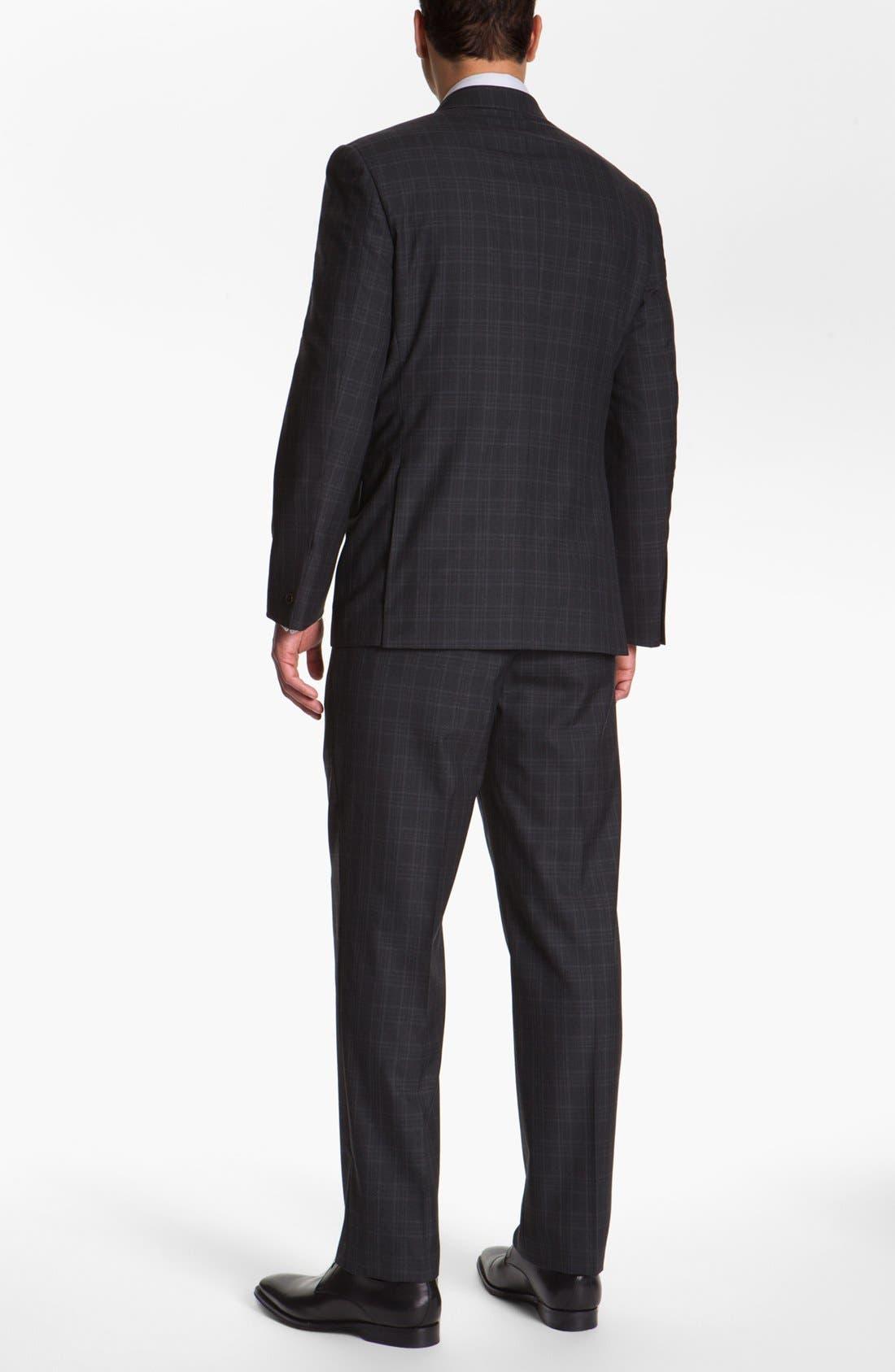 Alternate Image 3  - Joseph Abboud 'Platinum' Plaid Wool Suit