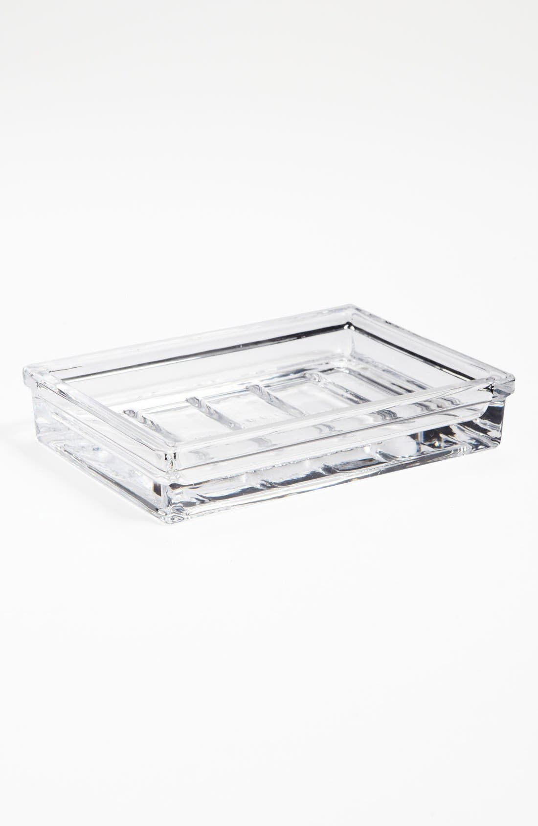 Studio 'Apothecary' Soap Dish,                         Main,                         color, Clear