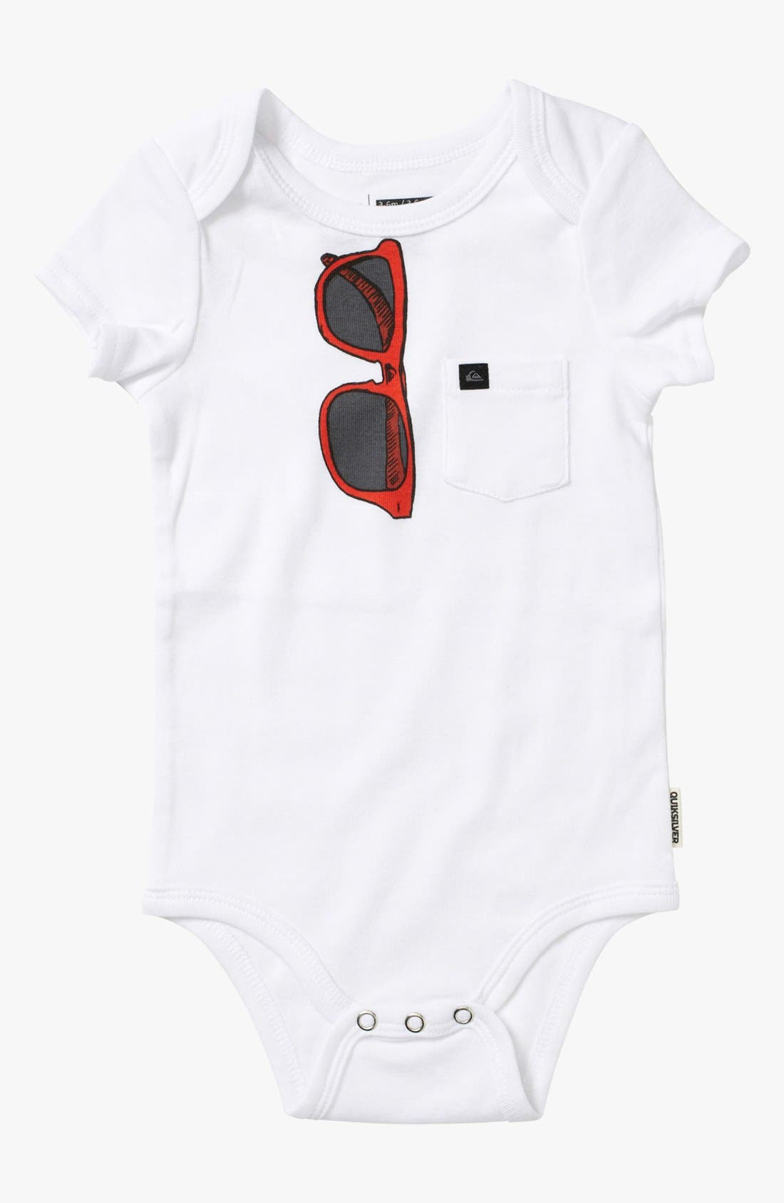 Alternate Image 2  - Quiksilver 'Echo Beach' Bodysuit (2-Pack) (Baby)