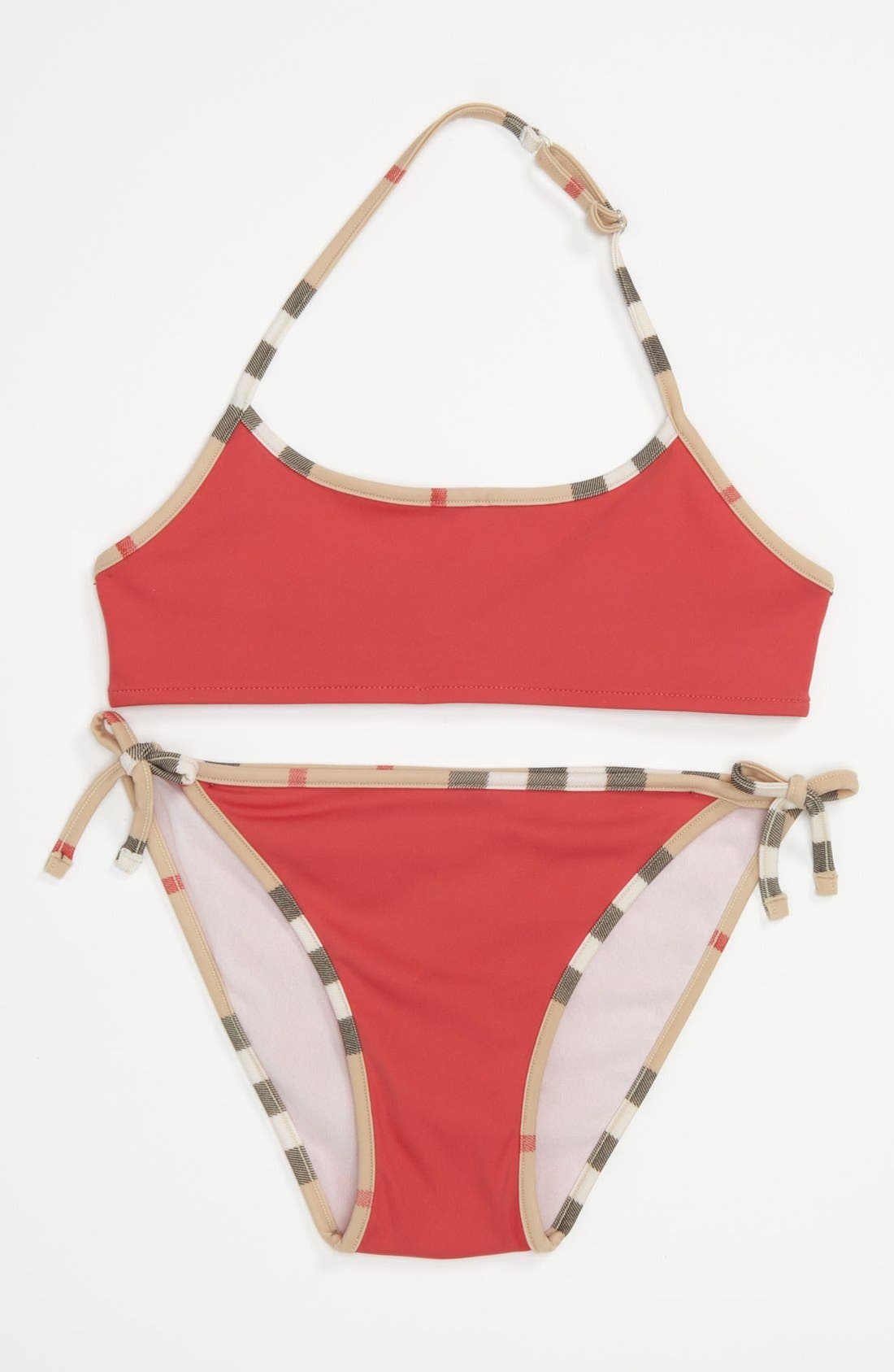 Alternate Image 1 Selected - Burberry 'Sancia' Two Piece Swimsuit (Little Girls & Big Girls)