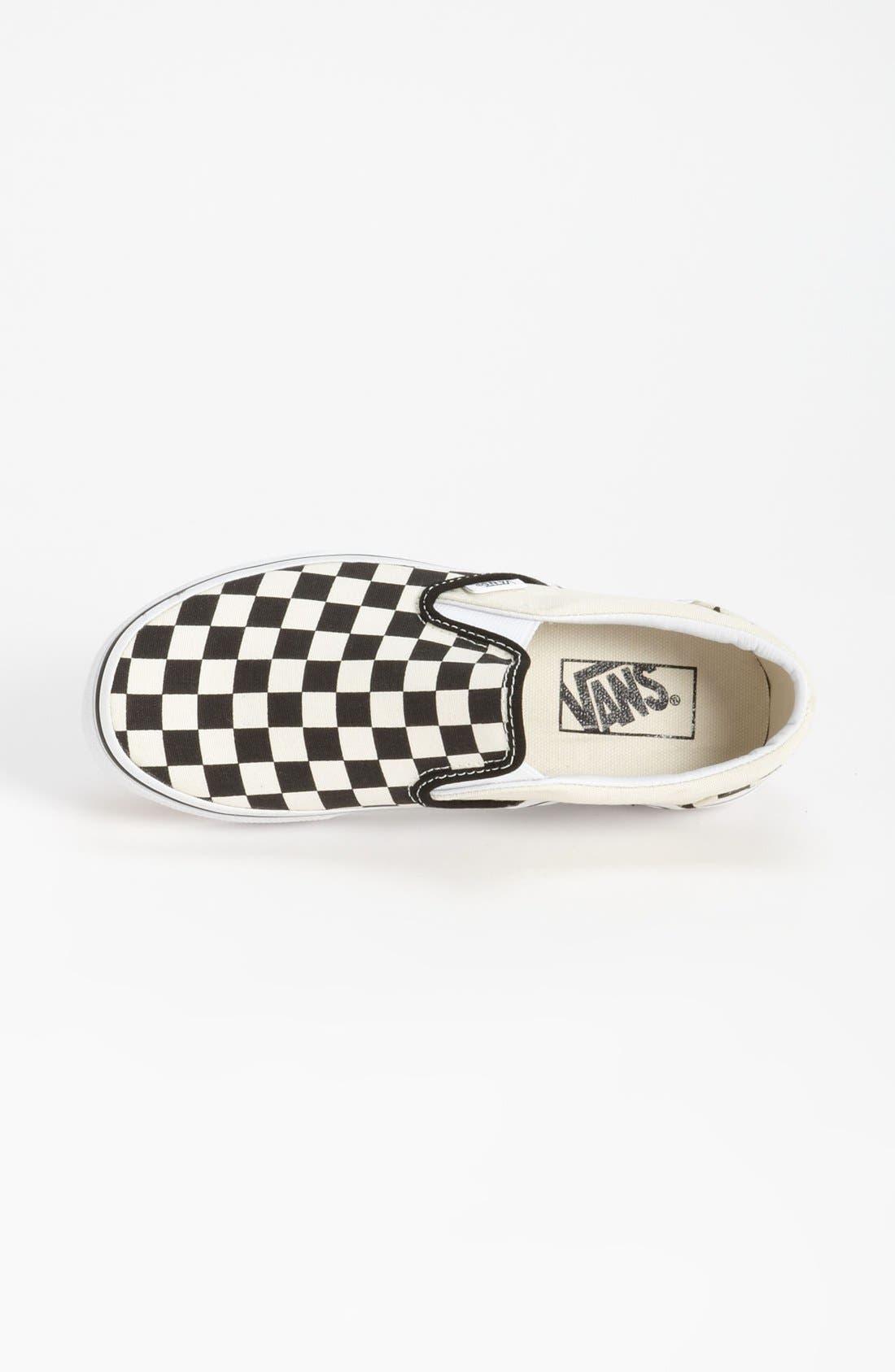 Alternate Image 4  - Vans 'Classic' Checkerboard Sneaker (Women)