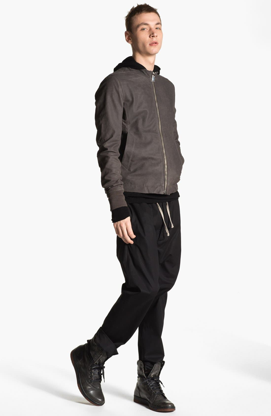 Alternate Image 5  - Rick Owens 'Sternberg' Lambskin Leather Bomber Jacket