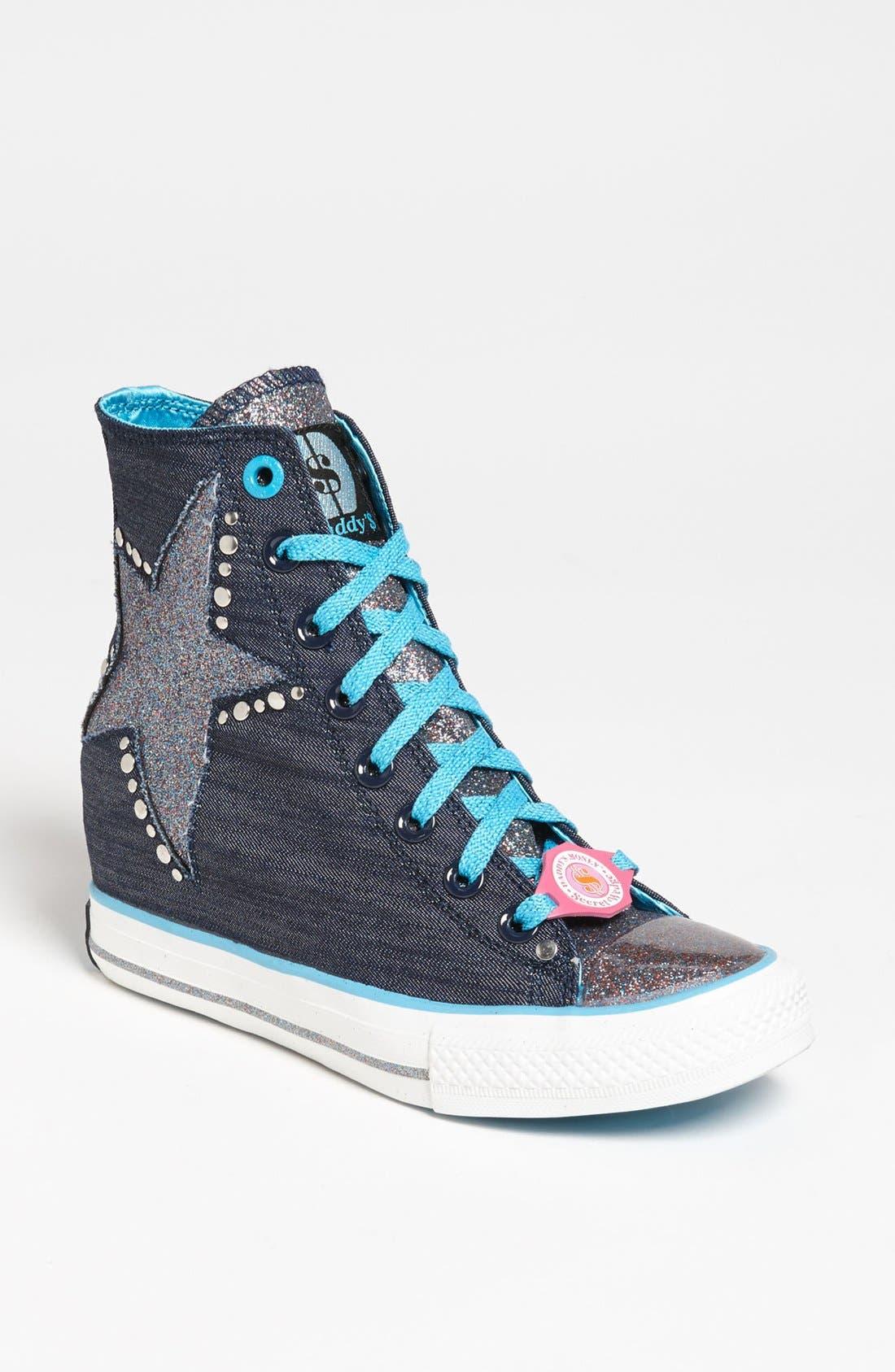 Alternate Image 1 Selected - SKECHERS 'Daddy's Money - Gimme' Wedge Sneaker