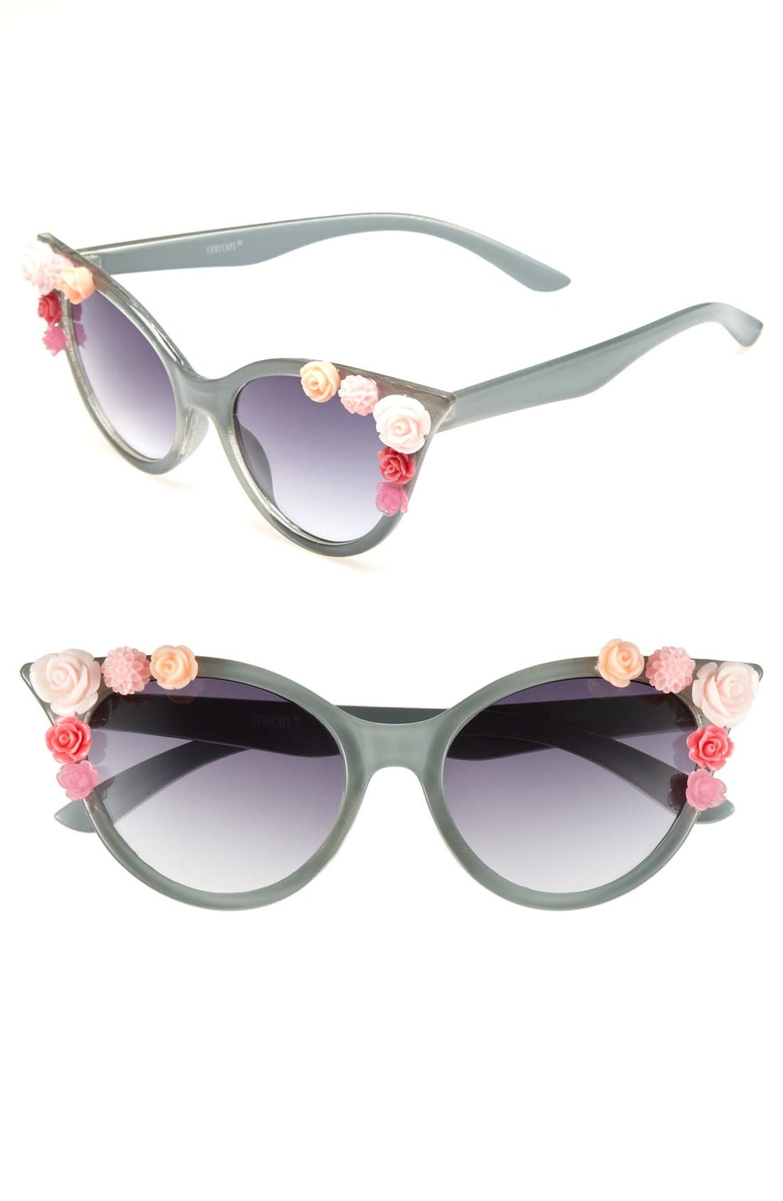 Main Image - BP. Rosette Cat's Eye Sunglasses