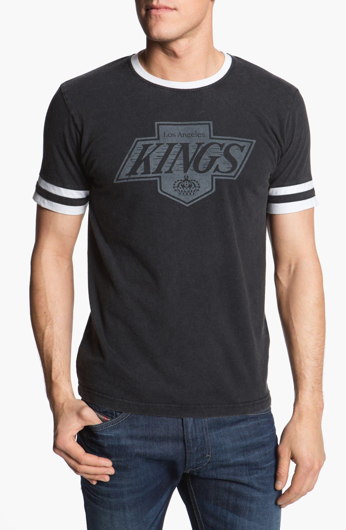 Alternate Image 1 Selected - Red Jacket 'Los Angeles Kings - Remote Control ' T-Shirt
