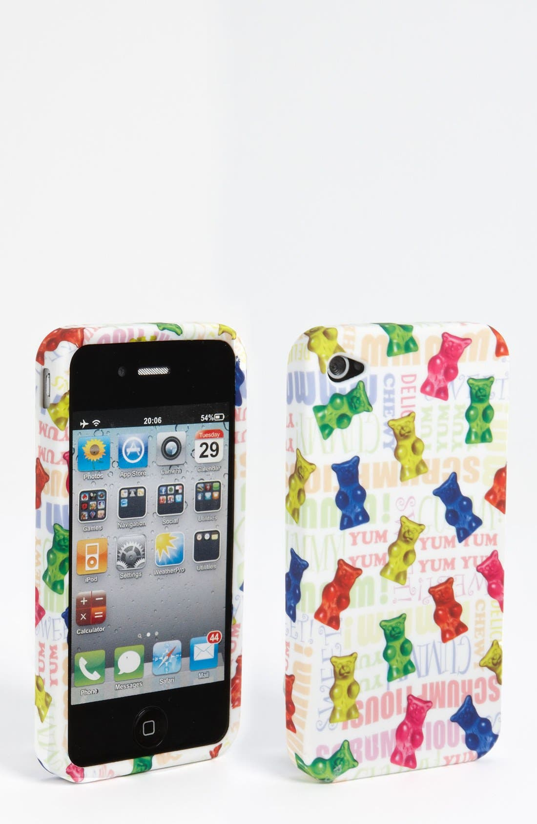 Alternate Image 1 Selected - Iscream 'Gummy Bear' iPhone 4 & 4S Case (Girls)
