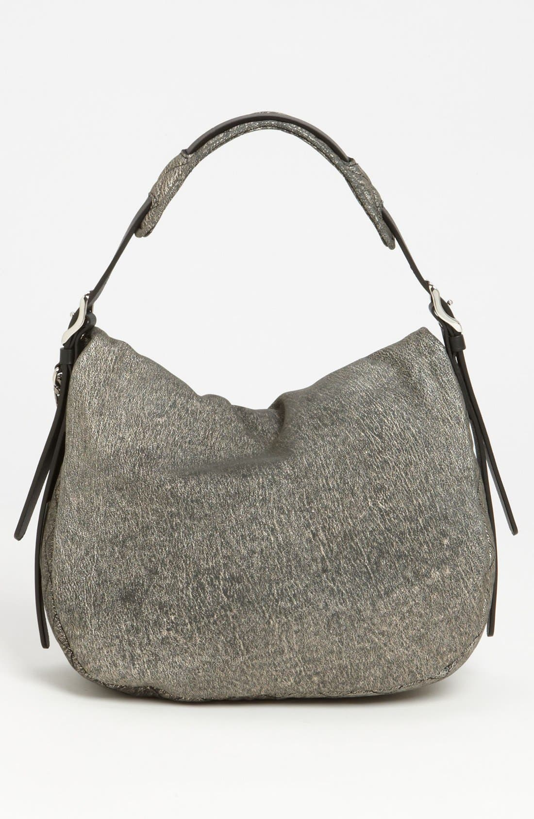 Alternate Image 4  - Jimmy Choo 'Small Boho' Suede Hobo