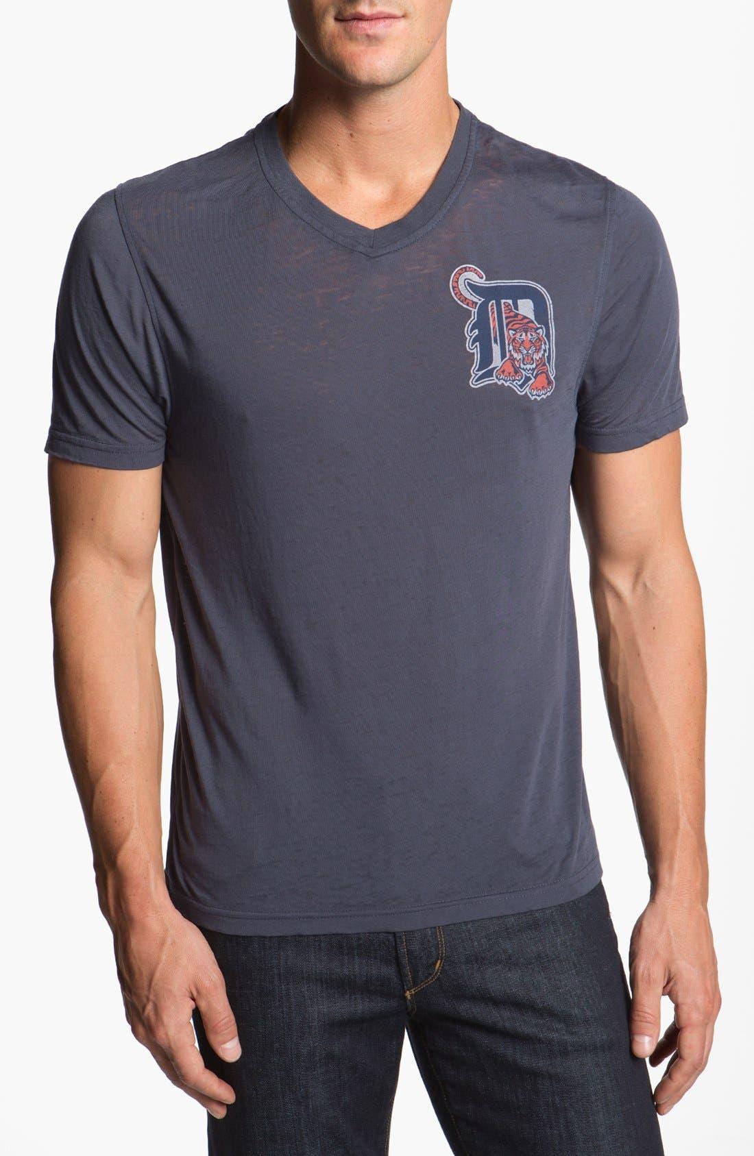 Alternate Image 1 Selected - Red Jacket 'Tigers - V-Wood' V-Neck T-Shirt