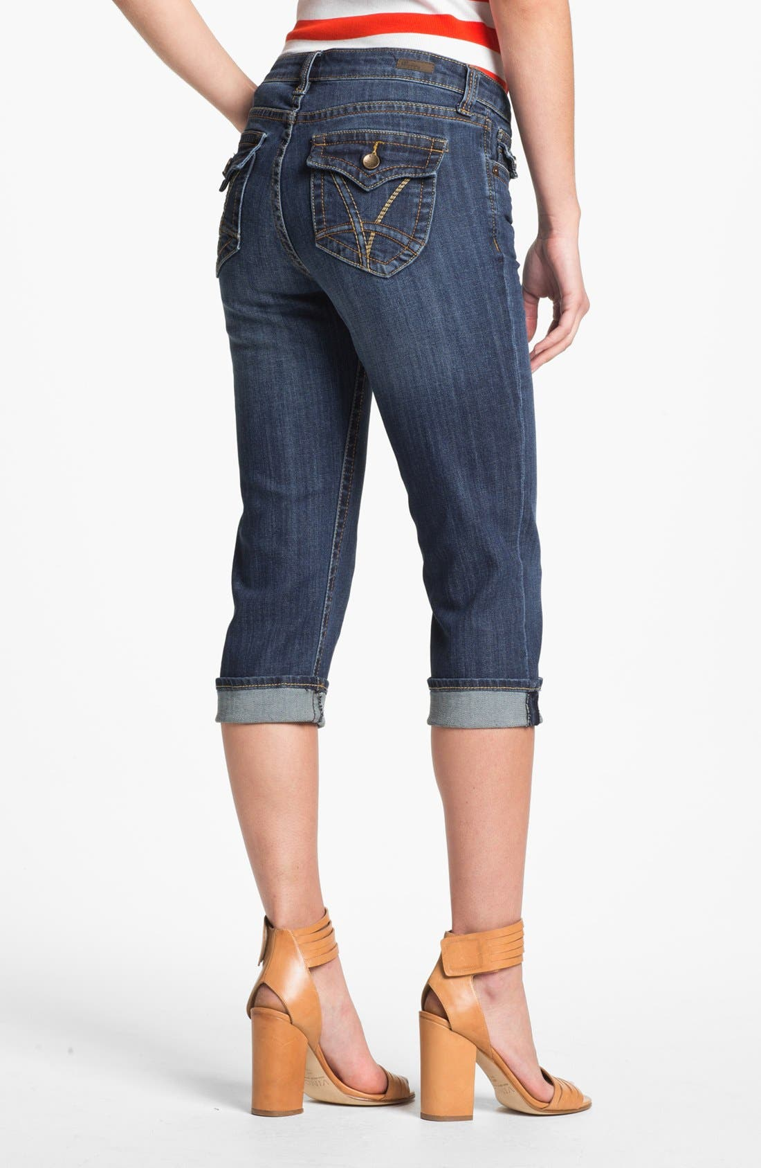 Alternate Image 2  - KUT from the Kloth 'Natalie' Crop Jeans