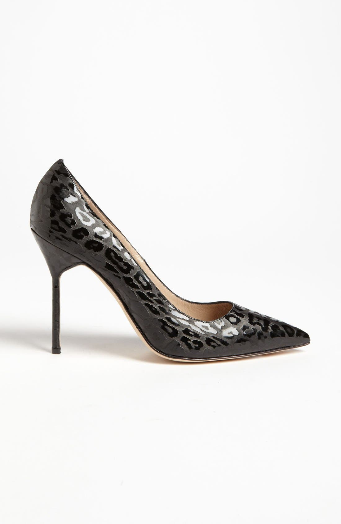 Alternate Image 4  - Manolo Blahnik 'BB Leopard' Pump