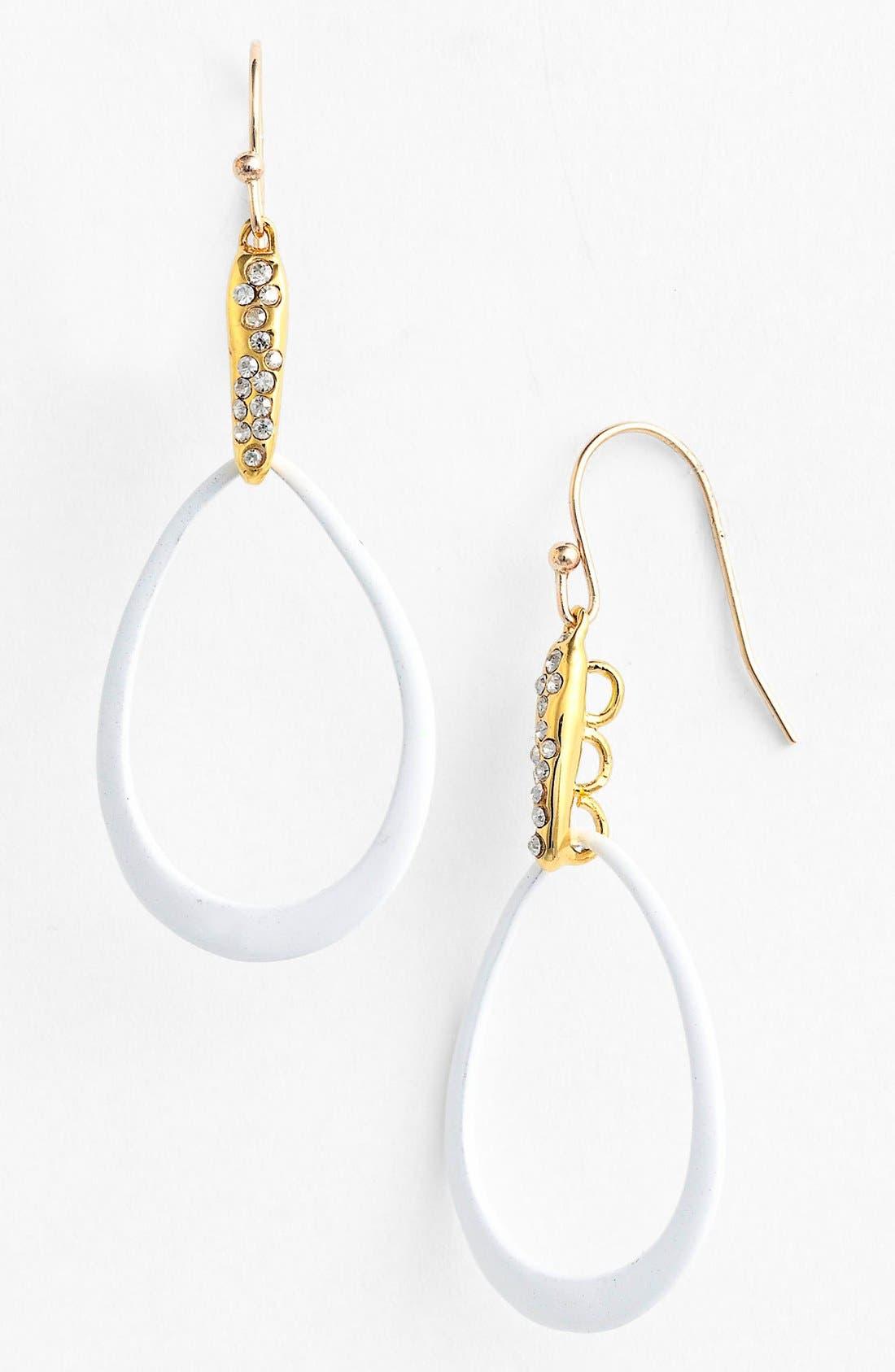 Alternate Image 1 Selected - Alexis Bittar 'Miss Havisham - Liquid Gold' Open Teardrop Earrings