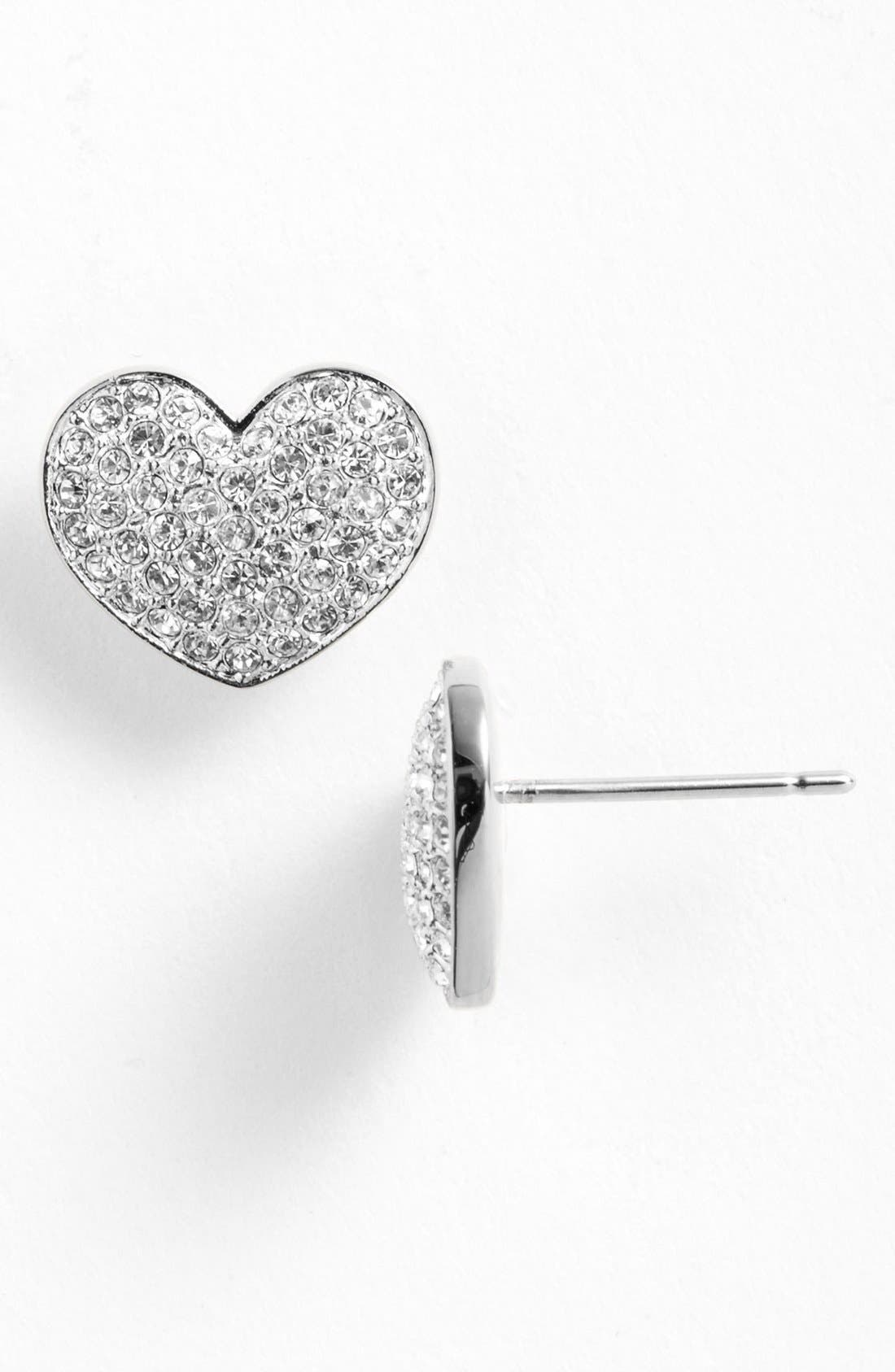 Alternate Image 1 Selected - Nadri 'Charmers' Pavé Symbol Stud Earrings (Nordstrom Exclusive)